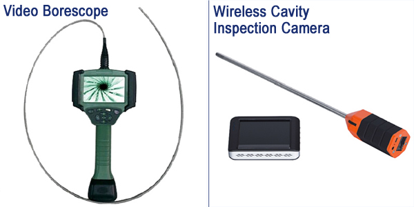 Cavity Inspection Camera and Video Borescope
